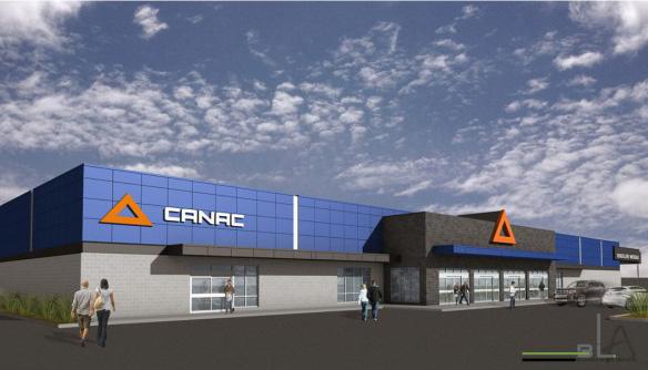 Expansion des quincailleries Canad vers Montréal